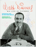 Books:Biography & Memoir, [Signed by Disney illustrator Russell Schroeder]. RussellSchroeder, editor. SIGNED. Walt Disney. His Life in Pictures....