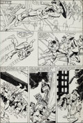 Original Comic Art:Panel Pages, Frank Miller and Joe Rubinstein Marvel Fanfare #18 Page 4Original Art (Marvel, 1985)....