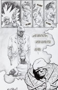 Original Comic Art:Panel Pages, Eric Powell The Goon #3 Page 13 Origin Story Original Art(Avatar Press, 1999)....