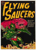 Golden Age (1938-1955):Science Fiction, Flying Saucers #nn (Avon, 1952) Condition: VG/FN....
