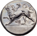 Ancients:Greek, Ancients: SICYONIA. Sicyon. Ca. 350-330 BC. AR stater (25mm,12.26 gm, 12h). ... (Total: 0 coins)