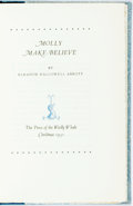 Books:Children's Books, Eleanor Hallowell Abbott. Molly Make-Believe. New York:Woolly Whale, 1931. Edition limited to 250 copies. Publisher...