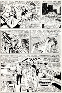 Frank Springer and Mike Esposito Nick Fury, Agent of S.H.I.E.L.D. #11 Page 10 Original Art (Marvel, 1969)