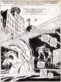 Original Comic Art:Splash Pages, Ross Andru and Jim Mooney Marvel Team-Up #3 Spider-Man andMorbius Splash Page 1 Original Art (Marvel, 1972)....
