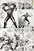 Original Comic Art:Panel Pages, Kerry Gammill Power Man #62 Page 16 Original Art (Marvel,1980)....
