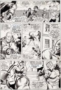 Original Comic Art:Panel Pages, George Tuska and John Verpoorten Iron Man #46 Page 13 Original Art (Marvel, 1972)....