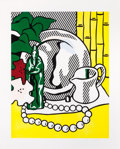 Post-War & Contemporary:Pop, ROY LICHTENSTEIN (American, 1923-1997). Still Life withFigurine (from the Six Still Lifes series), 1974.Lithograph...