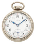 Timepieces:Pocket (post 1900), E. Howard 21 Jewel Railroad Chrometer Series 11 Pocket Watch. ...