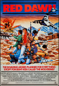 "Red Dawn (MGM, 1984). International One Sheet (27"" X 40""). Action"