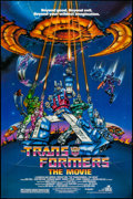 """Movie Posters:Animation, Transformers: The Movie & Other Lot (DEG, 1986). One Sheets (2) (27"""" X 41""""). Animation.. ... (Total: 2 Items)"""