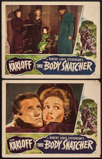 """The Body Snatcher (RKO, 1945). Lobby Cards (2) (11"""" X 14""""). Horror. ... (Total: 2 Items)"""