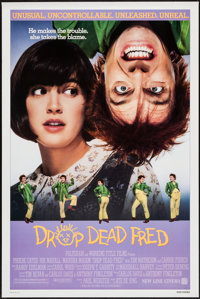 "Drop Dead Fred & Other Lot (New Line, 1991). One Sheets (2) (27"" X 40"" & 27"" X 41"") SS &..."