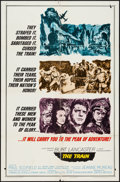 """Movie Posters:War, The Train & Other Lot (United Artists, 1965). One Sheets (2)(27"""" X 41"""") & Lobby Cards (2) (11"""" X 14""""). War.. ... (Total: 4Items)"""