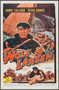"""Movie Posters:Adventure, Wolf Larsen & Other Lot (Allied Artists, 1958). One Sheets (2)(27"""" X 41""""). Adventure.. ... (Total: 2 Items)"""