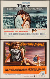 "Claudelle Inglish & Other Lot (Warner Brothers, 1961). Half Sheets (2) (22"" X 28""). Drama. ... (Total: 2 I..."
