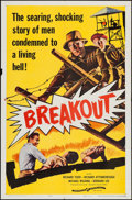 """Movie Posters:War, Danger Within & Others Lot (Continental, 1959). One Sheets (3)(27"""" X 41""""). War. Alternate Title: Breakout.. ... (Total: 3Items)"""