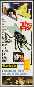 "Movie Posters:Science Fiction, The Fly (20th Century Fox, 1958). Insert (14"" X 36""). Science Fiction.. ..."