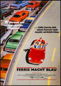 """Movie Posters:Comedy, Ferris Bueller's Day Off (Paramount, 1986). German A1 (23"""" X 33""""). Comedy.. ..."""