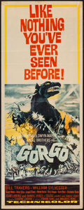 "Movie Posters:Science Fiction, Gorgo (MGM, 1961). Insert (14"" X 36""). Science Fiction.. ..."