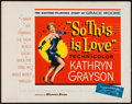 """Movie Posters:Musical, So This Is Love (Warner Brothers, 1953). Half Sheet (22"""" X 28"""").Musical.. ..."""