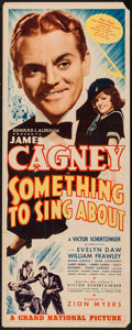 "Movie Posters:Musical, Something to Sing About (Grand National, 1937). Insert (14"" X 36"").Musical.. ..."