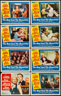 """Movie Posters:Drama, The Bad and the Beautiful (MGM, 1953). Lobby Card Set of 8 (11"""" X14""""). Drama.. ... (Total: 8 Items)"""