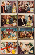 """Movie Posters:Musical, Greenwich Village (20th Century Fox, 1944). Lobby Card Set of 8 (11"""" X 14""""). Musical.. ... (Total: 8 Items)"""