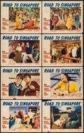 """Movie Posters:Comedy, Road to Singapore (Paramount, 1940). Lobby Card Set of 8 (11"""" X14""""). Comedy.. ... (Total: 8 Items)"""