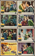 """Movie Posters:Swashbuckler, The Three Musketeers (MGM, 1948). Lobby Card Set of 8 (11"""" X 14""""). Swashbuckler.. ... (Total: 8 Items)"""