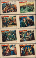 "Movie Posters:Western, Union Pacific (Paramount, 1939). Lobby Card Set of 8 (11"" X 14"").Western.. ... (Total: 8 Items)"