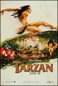 """Movie Posters:Animation, Tarzan (Buena Vista, 1999). One Sheets (2) (27"""" X 40"""") DS AdvanceStyles. Animation.. ... (Total: 2 Items)"""