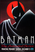 "Movie Posters:Animation, Batman: The Animated Series (Warner Brothers, 1992). Television Poster (27"" X 40""). Animation.. ..."