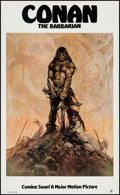 "Movie Posters:Action, Conan the Barbarian (20th Century Fox, 1980). Poster (22"" X 36"")Advance. Action.. ..."