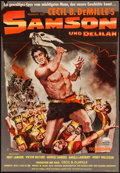 "Movie Posters:Adventure, Samson and Delilah & Others Lot (Paramount, 1951). German A1(23"" X 33.5""), One Sheets (4) (27"" X 41""), Lobby Cards (4) (11""...(Total: 11 Items)"