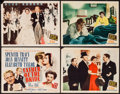 "Movie Posters:Comedy, Father of the Bride (MGM, 1950). Title Lobby Card & Lobby Cards (3) (11"" X 14""). Comedy.. ... (Total: 4 Items)"