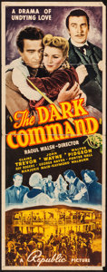 "Movie Posters:Western, The Dark Command (Republic, 1940). Insert (14"" X 36""). Western.. ..."