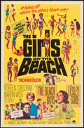 "Movie Posters:Rock and Roll, The Girls on the Beach (Paramount, 1965). One Sheet (27"" X 41""),Lobby Cards (2) (11"" X 14""), & Photo (8"" X 10""). Rock and R...(Total: 4 Items)"