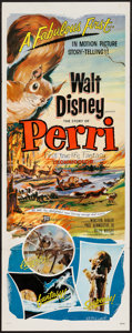 "Movie Posters:Adventure, Perri & Others Lot (Buena Vista, 1957). Insert (14"" X 36"")& One Sheets (2) (27"" X 41""). Adventure.. ... (Total: 3 Items)"