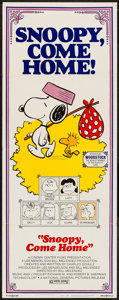 "Movie Posters:Animation, Snoopy, Come Home! (National General, 1972). Insert (14"" X 36"").Animation.. ..."