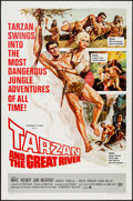"Movie Posters:Adventure, Tarzan and the Great River & Others Lot (Paramount, 1967). OneSheets (3) (27"" X 41""). Adventure.. ... (Total: 3 Items)"