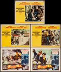 "Movie Posters:Western, She Wore a Yellow Ribbon & Other Lot (RKO, 1949). Lobby Cards (5) (11"" X 14""). Western.. ... (Total: 5 Items)"