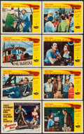 "Movie Posters:Adventure, Thunder Bay (Universal International, 1953). Lobby Card Set of 8(11"" X 14""). Adventure.. ... (Total: 8 Items)"