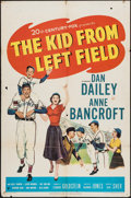 """Movie Posters:Sports, The Kid from Left Field (20th Century Fox, 1953). One Sheet (27"""" X 41""""). Sports.. ..."""