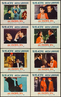 """My Favorite Spy (Paramount, 1951). Lobby Card Set of 8 (11"""" X 14""""). Comedy. ... (Total: 8 Items)"""