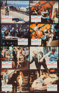 "Movie Posters:Action, Murderers' Row (Columbia, 1966). Lobby Card Set of 8 (11"" X 14"").Action.. ... (Total: 8 Items)"