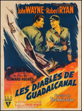 "Movie Posters:War, Flying Leathernecks (RKO, 1952). French Grande (44.5"" X 61""). War....."