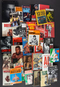 Boxing Collectibles:Memorabilia, Boxing Hardcover and Paperback Books Lot of 32....