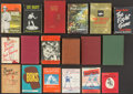 Boxing Collectibles:Memorabilia, Vintage Hardcover and Paperback Boxing Books Lot of 18....