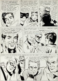 "Original Comic Art:Panel Pages, Mike Sekowsky and Bernard Sachs Justice League of America #16 ""The Cavern of Deadly Spheres!"" Page 20 Original Art..."
