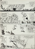 "Original Comic Art:Panel Pages, Carmine Infantino and Joe Giella The Flash #153 ""TheMightiest Punch of All Time!"" Page 18 Original Art (DC, 1965)..."